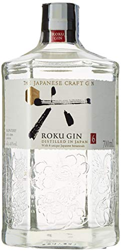Roku Ginebra Artesanal Japonesa, 43% - 700 ml