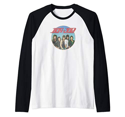 Bon Jovi Sphere Raglan Baseball Shirt for Men and Women