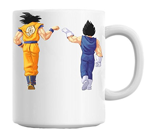 Dragon Ball Z Goku Vegeta Mug Cup