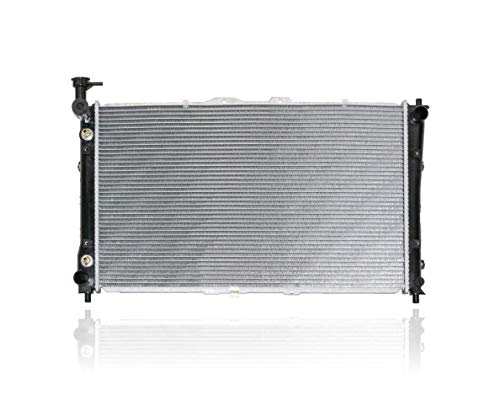 Radiator - Pacific Best Inc. Fit/For 2442 02-05 Kia Sedona - Plastic Tank, Aluminum Core