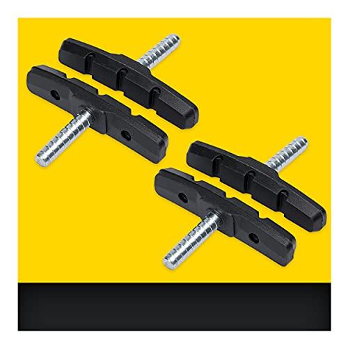Cantilever Bremsbeläge 2 Paar 70mm Symmetrisch I Für Shimano, Tektro, Avid, Sram, XLC UVM I Hohe Bremsleistung I Langlebige & Passgenaue Bremsklötze