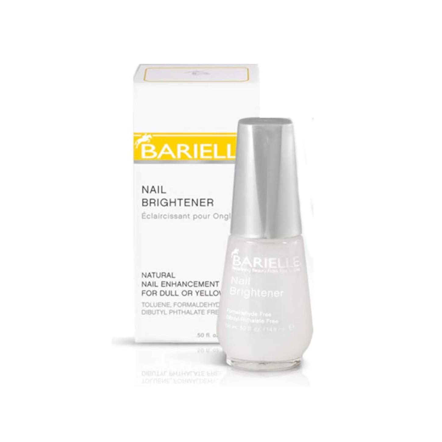 硬い消化食事Barielle Nail Brightener for Dull/Yellow Nails (並行輸入品)