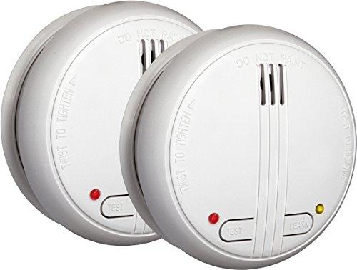 Smartwares SHS-32000-EU SmartHome Funk-Rauchmelder 2er-Set, vernetzbar
