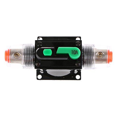 Sharplace Disjoncteur Porte Fusible Audio Stéréo 12V 24V 32V de Voiture - 10A