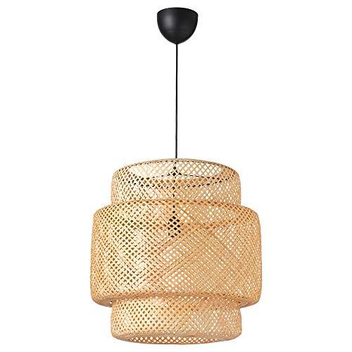 IKEA 703.150.30 Sinnerlig Pendant Lamp, Bamboo