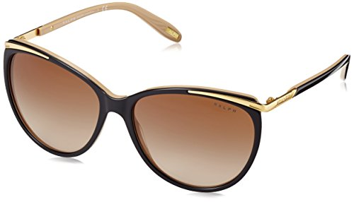 Ralph Lauren Ralph by Damen 0Ra5150 109013 59 Sonnenbrille, Schwarz (Black/Nude/Brown Gradient)