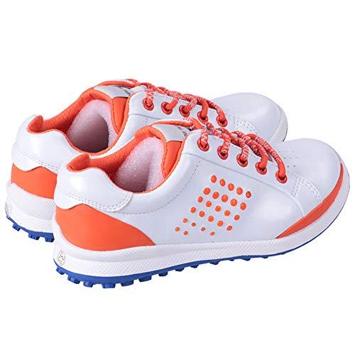 CGBF-Men's Golf Shoes für Kinder/Men,Lightweight Waterproof Spikeless Golfschuhe Rainer No-Sslip Walking Trainers Leichte Turnschuhe,36 EUR/4.5 UK/5.5 USA/23.5 JPN