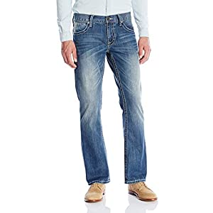 Men's Rocker Fit with Lower Rise and Slightly Fitted Thigh Jean