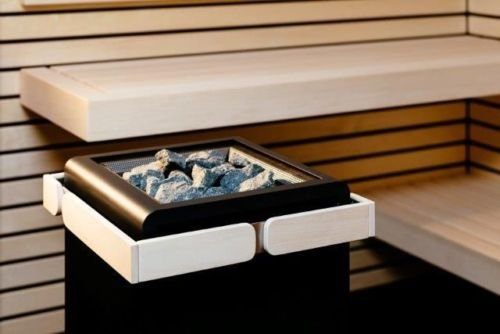 Sentiotec estufa sauna Concept R Colour negro 12 o