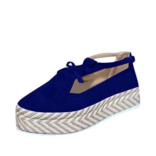 Women Platform Sandals-Tassel Bow Close Round Toe Soft Sole Buckle Strap Loafers