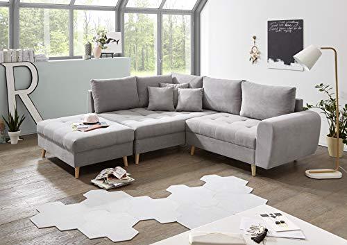 Ecksofa Couch –  günstig Skandi Stella Trading Alice Bild 2*