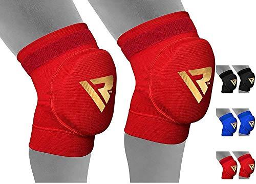 RDX MMA Tutore Fascia Ginocchio Support Boxe Ginocchiere Pallavolo Protezione Fitness