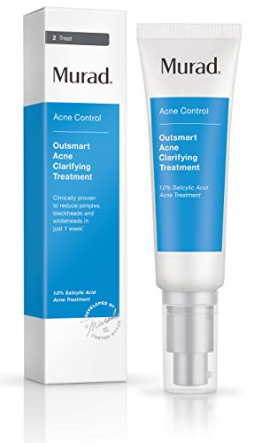 Acne treatment products Murad Outsmart Acne Clarifying Treatment, 1.7 FL OZ Gentle Gel Serum with Salicylic