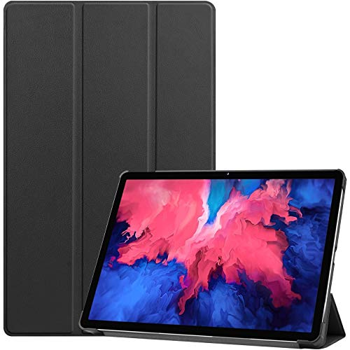 ProCase Case for Lenovo Tab P11 11-inch Full HD Tablet 2020 Release (Model: TB-J606F TB-J606X), Slim Lightweight Smart Cover with Auto Sleep/Wake, Stand Folio Hard Shell Case –Black