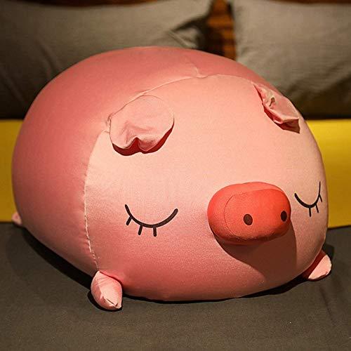 N / A Cool Piggy Espuma partículas Juguetes de Peluche Suave Cerdo Almohada muñeca Verano Siesta Almohada cojín Regalo de cumpleaños para Novias 45 CM