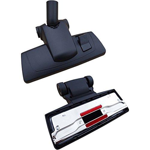 Staubsauger Bodendüse universal für 35mm Staubsaugerrohre passend für Bosch BSG 4000… 4999 terrossa inkl. 1 Rolle 16l Abfallbeutel