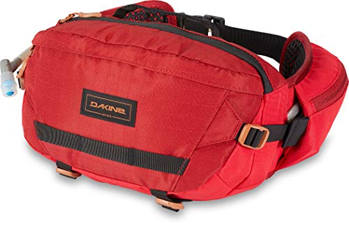 Dakine Hot Laps - Riñonera para Bicicleta (5 L), Color Rojo