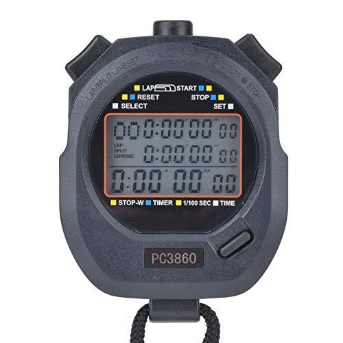 T best Cronometro Digitale Sportivo, cronometro elettronico Conto alla rovescia Atletica Elettronica...