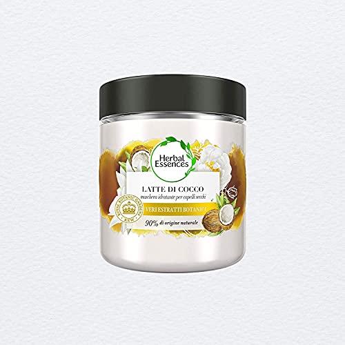 Herbal Essences Maschera Idratante Latte Di Cocco, 250ml, In Collaborazione Con Giardini...