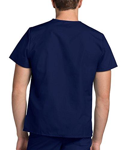 Medizinische Uniformen Unisex Top Krankenschwester Krankenhaus Berufskleidung 601 Color Nvy | Talla: M - 5