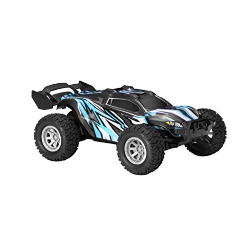 jieGorge 1/32 4CH 2WD 2.4GHz Mini 25Km/h High Speed Remote Control Off Road Vehicle Car, Remote Control Car, Toys and Hobbies for Easter Day (Green)