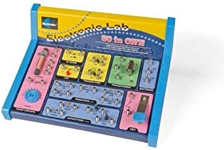Velleman EL301 30 in 1 Electronic Lab Kit, 1 Grade to 12 Grade