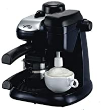 Delonghi Espresso and Cappuccino Coffee Maker - Black, Ec9