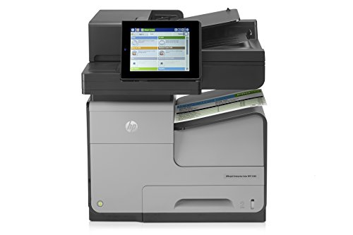 Best Buy! HP OfficeJet Pro X585dn Office Printer with Print Security, Remote Fleet Management & Fast...