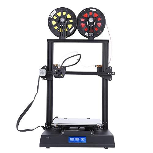 Garsent Imprimante 3D, 4.3 Pouces Ecran Tactile Imprimante 3D Brcolore d'impression Kit de Bricolage Nivellement Automatique Imprimante 3D.(EU)