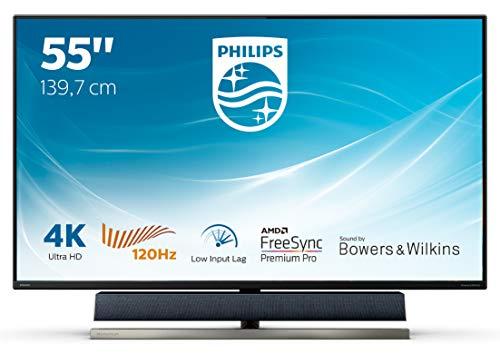 Monitor Gaming PHILIPS 558M1RY/00 (55'' - 4 ms - 120 Hz - 4K)
