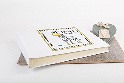 tigerlilyprints groot gepersonaliseerd fotoalbum, fotoalbums met doos, verjaardag, doopbaby fotoalbums