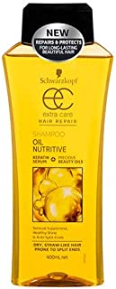 Schwarzkopf Extra Care Oil Nutritive Shampoo, 400ml