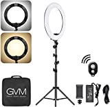 ➤256 Pieces high quality LED bulb with a wide dimming range from 1%-100%, which allows you to set the scene simply and beautifullThe Led beads of the ring light which come from the United States have a life expectancy upto 70,000 hours and profession...