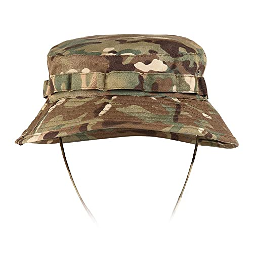 STARTIAKE Tactical Boonie Hat Sun Protect Bucket Camo for...