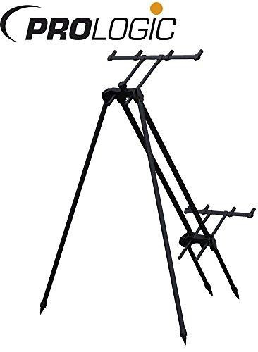 Prologic Tri-Sky Pod 4 Rod- Rutenhalter zum Karpfenangeln Rutenablage für Karpfenruten Rutenständer Rod Pod zum Angeln auf Karpfen