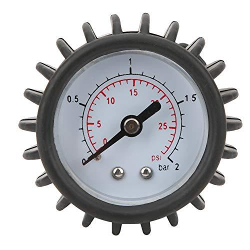 Borlai Barómetro inflable de goma para barco Barómetro de goma para medición de presión de aire