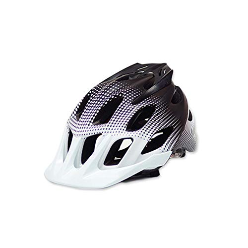 SFBBBO asco Bicicleta Casco de Bicicleta 2020 Nuevo Material PC + EPS Integrado Ultraligero Bicicleta de montaña Casco de Bicicleta de Carretera Sombrero de Seguridad para Bicicleta L Blanco-Negro