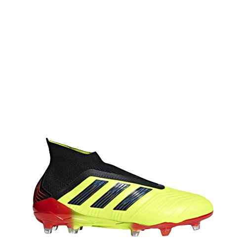adidas Predator 18+ FG Cleat - Men's Soccer 9 Solar Yellow/Core Black/Solar Red