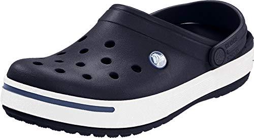 crocs Unisex-Erwachsene Crocband U Clogs, Blau (Navy/Bijou Blue), 38/39 EU