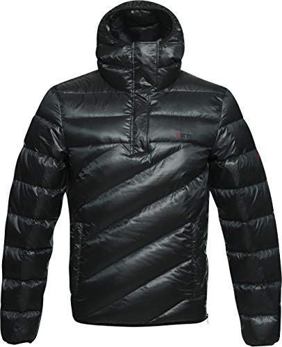 YETI Fjelldal M's Hooded Down Anorak - Daunen Anorak Herren, Black, schwarz, l