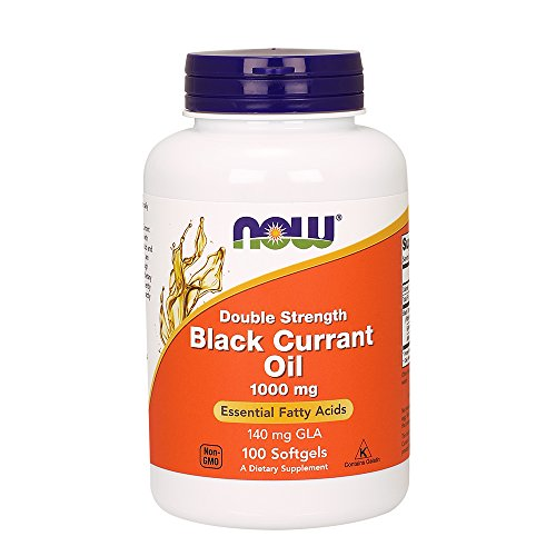 Now Foods Black Currantoil Softgels, 1,000 mg, 100 Count