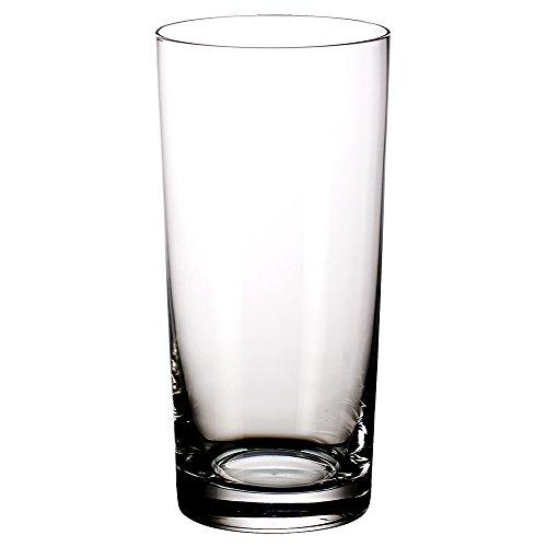 Villeroy & Boch Purismo Bar Vaso de Tubo, Set de 2 Piezas, 560 ml, Cristal, Transparente