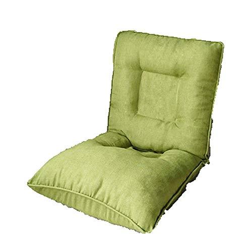 FTFTO Productos para el hogar Sofá Perezoso Colchón de Espuma viscoelástica Sofá para el Suelo Estera de Confort Alfombrilla para Cama Invitados Multifuncional (Color: Verde)