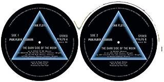 Pink Floyd Dark Side Of The Moon Slipmat/ Schallplattenspielerauflage