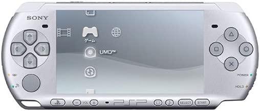 SONY PSP Playstation Portable Console JAPAN Model PSP-3000 Mystic Silver (Japan Import)