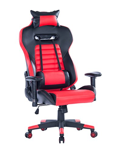 Killbee Large Gaming Chair Ergonomic Reclining Computer Chair High Back Swivel Executive Office...
