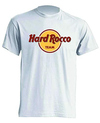 Mister Patch – Hard Rock – Camiseta Parodia – Divertido Hard Rocco – 100% algodón – Idea de regalo Team M