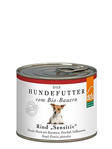 defu Rind Sensitive Hunde-Menü
