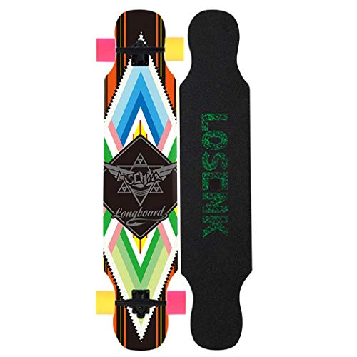 Learn More About TYXTYX Skateboard Longboard Standard Skateboard Beginners Four-Wheeled Scooter Adul...