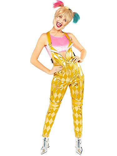 amscan Ladies Birds of Prey Booby Trapped Warner Bros Harley Quinn Fancy Dress Costume